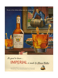 1940s USA Imperial Magazine Advertisement Posters