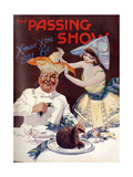 1920s USA The Passing Show Magazine Cover Posters
