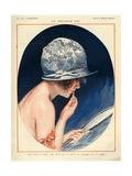 1920s France La Vie Parisienne Magazine Plate Giclee Print