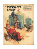 1930s UK The Passing Show Magazine Cover Giclee Print