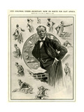 1900s UK Winston Churchill Magazine Plate Giclee Print