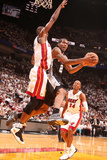 Miami, FL - June 20: Kawhi Leonard and Chris Bosh Photographic Print by Nathaniel S. Butler