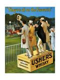 1910s UK Usher's Poster Impression giclée