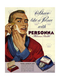 1950s UK Personna Magazine Advertisement Giclee Print