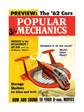 1960s USA Popular Mechanics Magazine Cover Giclee Print