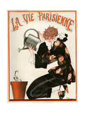 1920s France La Vie Parisienne Magazine Cover Giclee-vedos