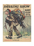 1930S UK Passing Show Magazine Cover Giclee Print