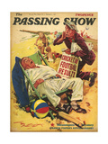 1930s USA The Passing Show Magazine Cover Posters