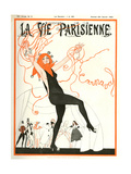1920s France La Vie Parisienne Magazine Cover Art