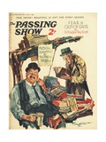 1930s UK The Passing Show Magazine Advertisement Poster