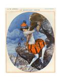1920s France La Vie Parisienne Magazine Plate Print
