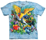 Birds Of The Tropics T-shirts