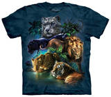 Big Jungle Cats T-skjorter
