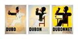 Dubonnet Posters par Adolphe Mouron Cassandre