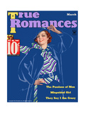 True Romances Magazine - March 1935 Art by Georgia Warren