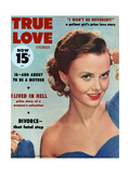 True Love Stories Magazine - December 1955 Print