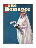 True Romance Vintage Magazine - June 1937 - Cover- Madge Evans Posters by Georgia Warren