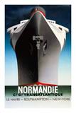 Normandie 1935 Kunstdrucke von Adolphe Mouron Cassandre