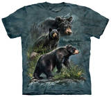 Three Black Bear T-shirts