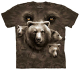 Bear Eyes T-shirts