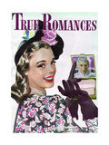 True Romances Magazine - October 1945 Prints by Darius Mede