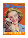 True Love & Romance Magazine - September 1942 Giclee Print