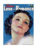 True Love & Romance Vintage Magazine - June 1941 Giclee Print by Morr Kusnet