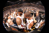 Miami, FL - June 20: LeBron James and Dwyane Wade Photographic Print by Nathaniel S. Butler