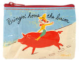 Bringin' Home The Bacon Coin Purse Coin Purse
