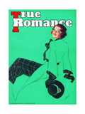 True Romance Vintage Magazine - March 1936 Giclee Print by Georgia Warren