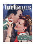 True Romances Magazine - December 1946 Giclee Print