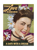 True Love & Romance Magazine - June 1946 Poster