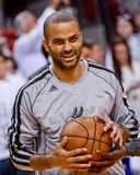 Miami, FL - June 20: Tony Parker Photographic Print by Noah Graham