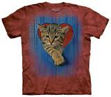 Heart Kitten T-Shirt