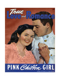 True Love & Romance Magazine - August 1944 Giclee Print by L. Willinger