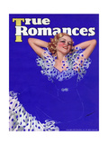 True Romances Vintage Magazine - January 1936 Posters by Georgia Warren