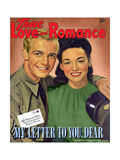 True Love & Romance Magazine - August 1943 Giclee Print by L. Willinger
