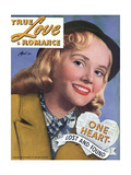 True Love & Romance Magazine - April 1946 Giclee Print
