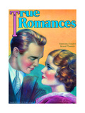 True Romances Magazine - May 1931 - Constance Cummings Richard Cromwell Giclee Print by Jules Cannert