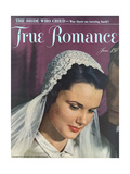 True Romance Magazine - June 1948 Giclee Print