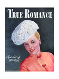 True Romance Vintage Magazine - March 1947 - Right Out of This World Giclee Print