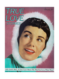 True Love Stories Magazine - December 1949 Póster por Milton H. Greene