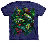 Red Eye Collage T-shirts