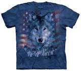 Patriotic Wolfpack Skjorte
