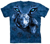 White Tiger Eyes Shirts