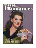 True Romances Magazine - October 1944 - Janis Paige Poster by Henry Waxman