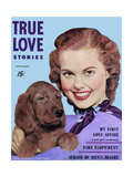 True Love Stories Magazine - September 1952 Prints