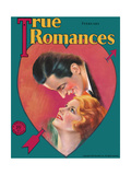 True Romances Magazine - February 1931 - Charles Sabin - Mabel Northway Giclee Print by Jules Cannert