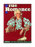 True Romances Vintage Magazine - May 1936 Giclee Print
