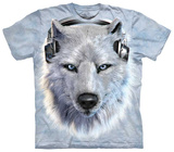 White Wolf DJ T-shirts